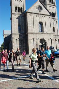 Kirkevandring Engesvang - Viborg er i mål.