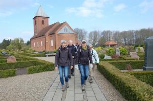 Kirkevandring fra Engesvang